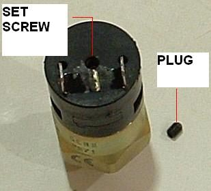 Adjustable Pressue Switch